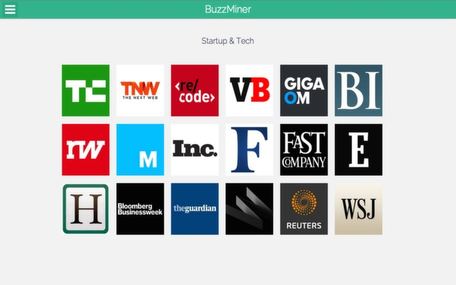 BuzzMiner - Quickly read latest news