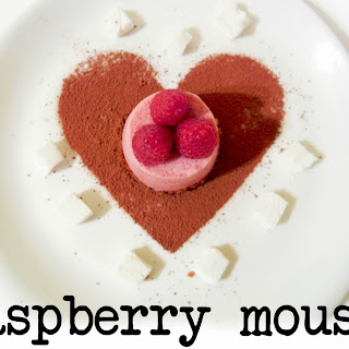Raspberry Mousse.
