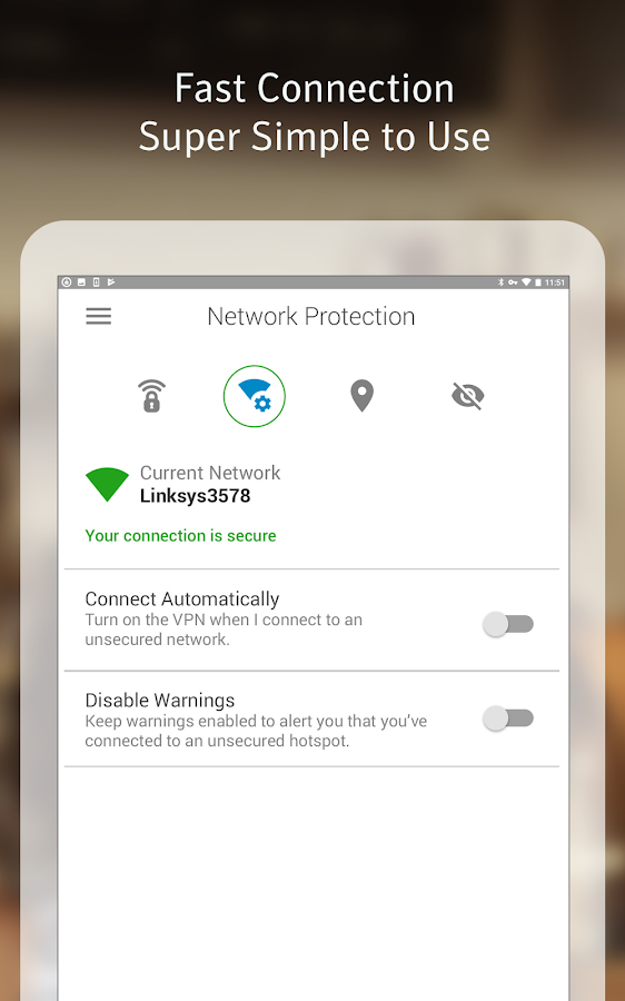 Norton Wifi Privacy VPN Proxy – Security & Unblock- screenshot
