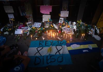 Manifestation à Buenos Aires pour réclamer justice après la mort de Diego Maradona