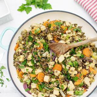 Quorn & Lentil Casserole [vegetarian] [gluten free]