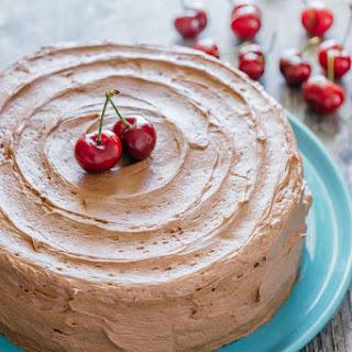 Chocolate Cherry Cake.