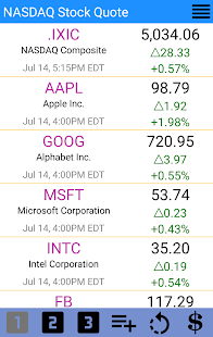 Nasdaq Stock Quotes Classy Nasdaq Stock Quote  Us Market  Android Apps On Google Play
