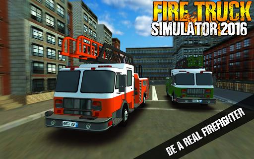 Fire Truck Simulator 2016