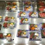 delicious sashimi at Nakano Broadway in Tokyo, Tokyo, Japan