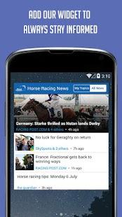 Horse Racing News - SF - screenshot thumbnail