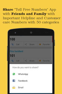 Toll Free Numbers- screenshot thumbnail