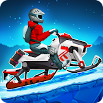 Winter Sports Game: Risky Road Snowmobile Race Icon