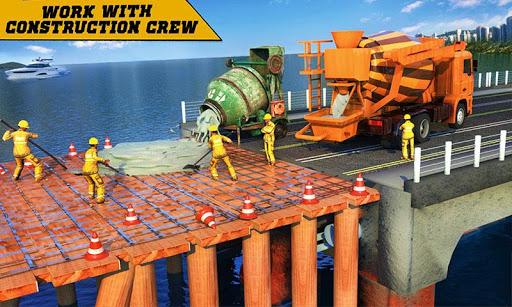 City Bridge Builder Construction Simulator Games apkbreak screenshots 1
