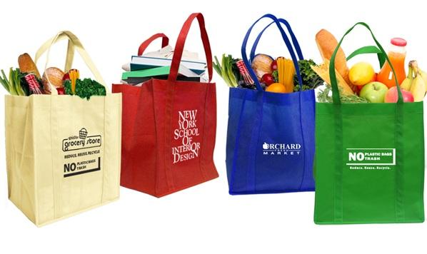 Túi giấy đi siêu thị