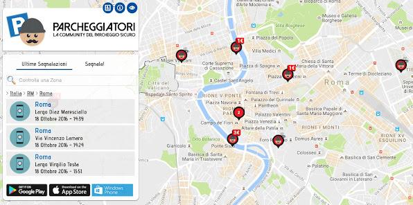 iParcheggiatori: un app contro i parcheggiatori abusivi e molesti