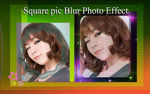 Square pic Blur Photo Effect