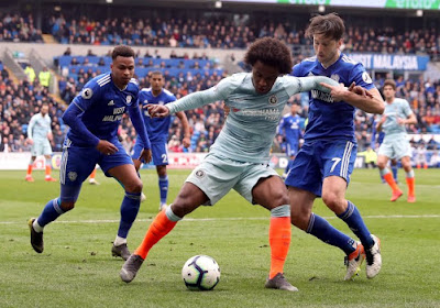 PL : Hazard monte au jeu et Chelsea s'en sort de justesse à Cardiff