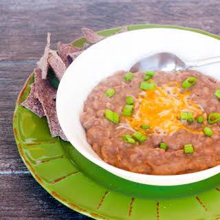 Homemade Refried Beans.