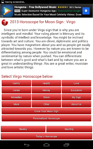 Daily Horoscope 2018 screenshot 17