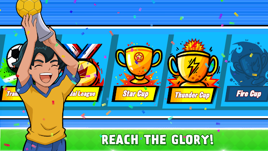 Soccer Heroes 2018 - RPG Football Stars Game Free Screenshot
