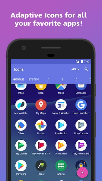 AdaptivePack – Pixel + Oreo style Adaptive Icons v1.0 [Paid]