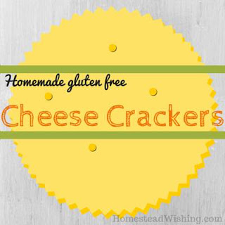 Homemade Gluten Free Cheese Crackers