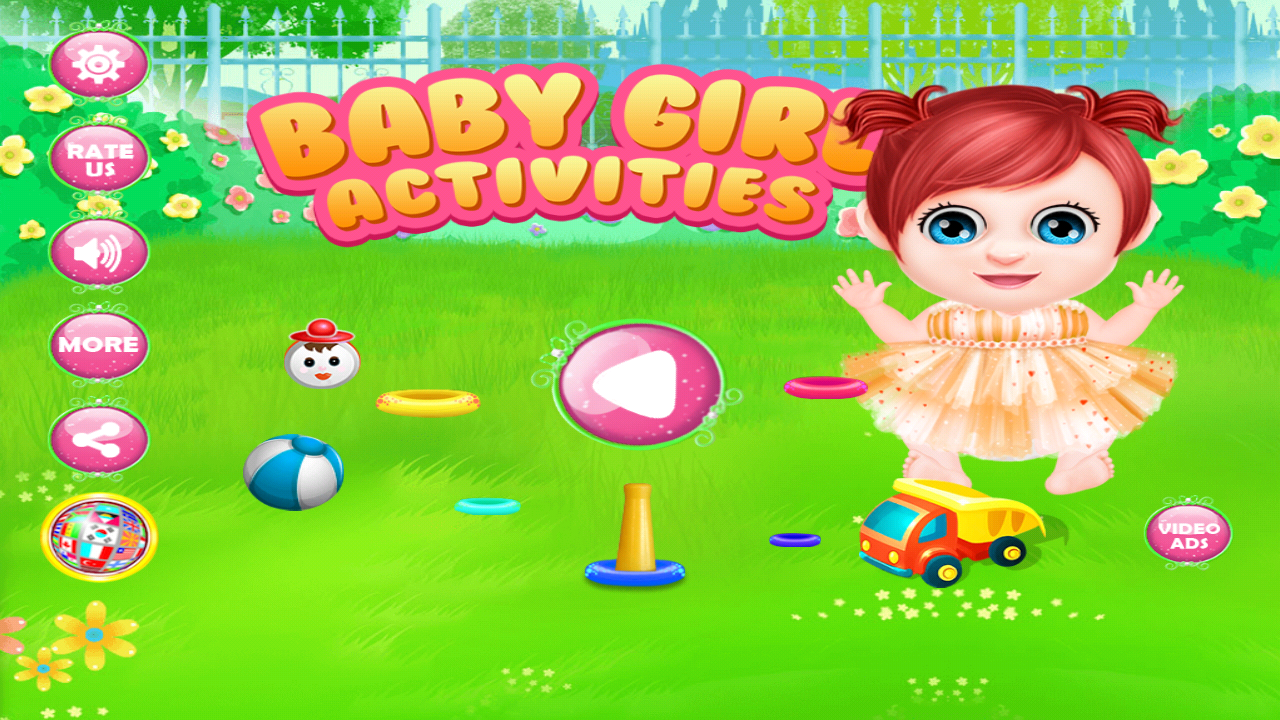 Baby Girl DayCare Apl Android Di Google Play
