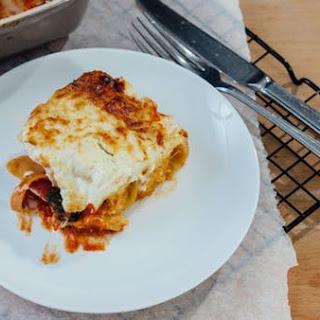 Cheesy Butternut Squash Pasta.