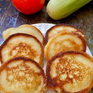 Easy Hoecakes aka Cornmeal Pancakes.