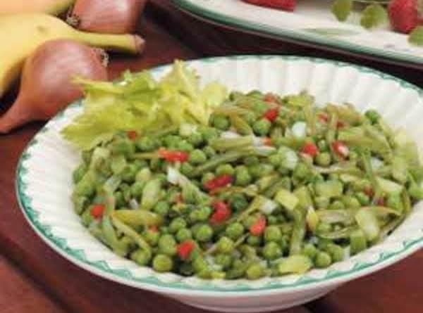 Green Bean And Pea Salad