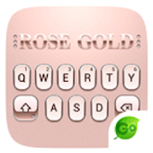 Tải Rose Gold 2018 GO Keyboard Theme APK