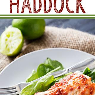 Harissa Baked Haddock.