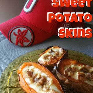 Sweet Potato Skins for #SundaySupper Tailgating