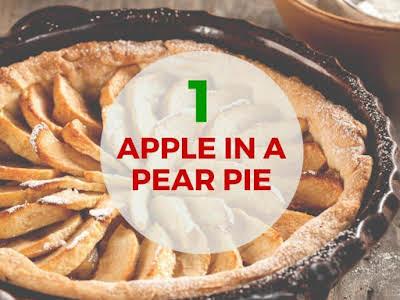 An Apple in a Pear Pie Recipe