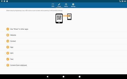 QRbot: QR code reader and barcode reader  screenshots 11