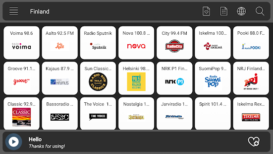Radio Finland 2018 - náhled