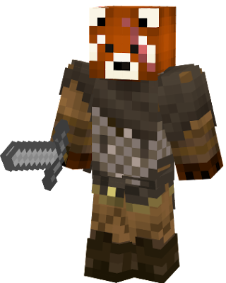 Raaa kill other player with this Viking Red Panda skin from the secret red panda confrery !