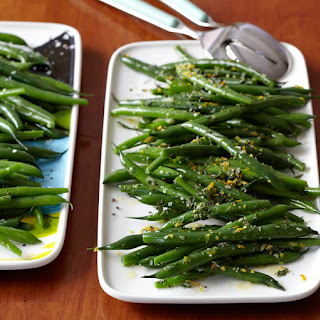 Green Beans Two Ways.