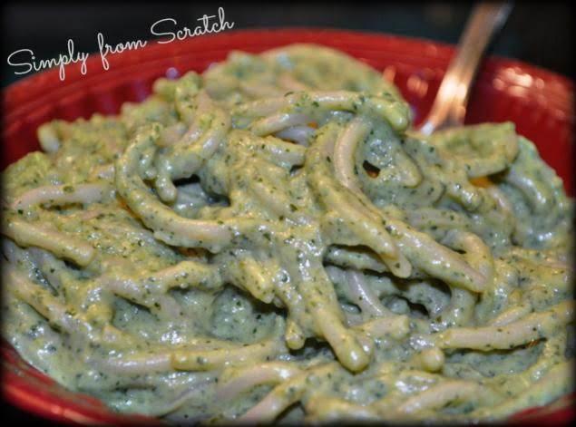 Green Spaghetti Recipe Just A Pinch Recipes