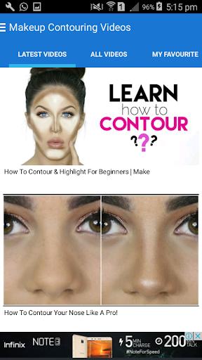 玩免費遊戲APP|下載Makeup Contouring Videos app不用錢|硬是要APP