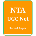 NTA UGC Net Solved Paper in Hindi and English icon