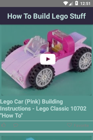 How To Build Lego Stuff App Report on Mobile Action - App