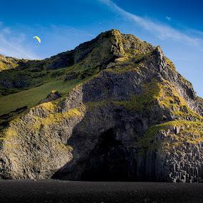 Parachuter by Boštjan Rakovec - Landscapes Waterscapes