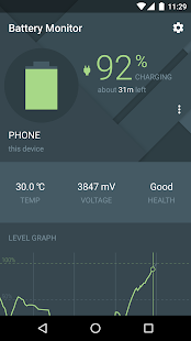 Cross-Device Battery Monitor Screenshot