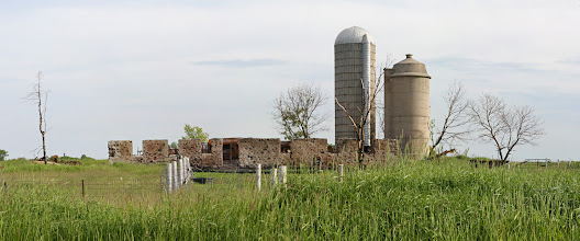 Photo: Burned Out Barn