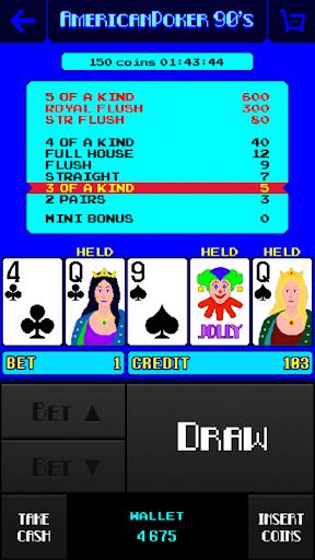 American Poker 90's Casino screenshots 2