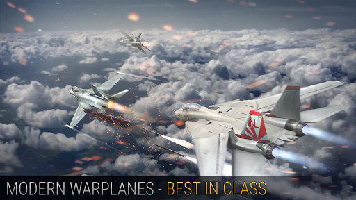 Modern Warplanes: Thunder Air Strike PvP warfare  trampa 1
