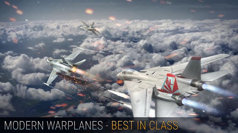 Modern Warplanes: Wargame Shooter PvP Jet Warfare Screenshot 3