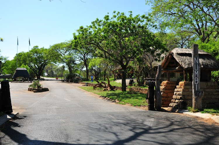 Numbi gate as seen by a visitor to the Kruger National Park on November 1 2011.
