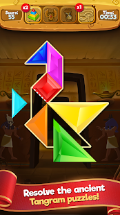 Tangram Master HD Puzzle Game - náhled
