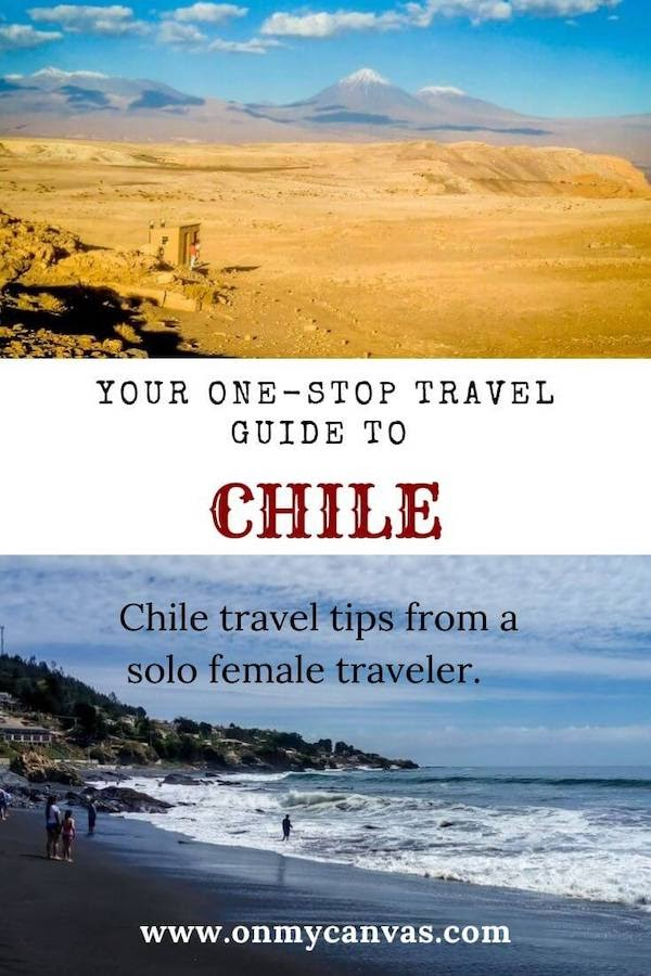 chile travel guide pinterest image