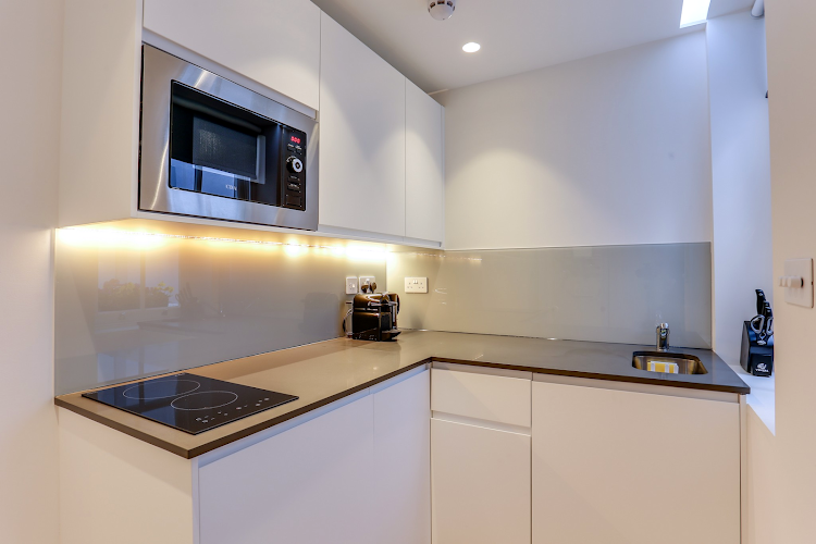 Kitchen at Notting Hill apartment