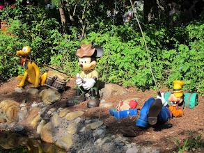 Photo: Mickey and the Boys at Disney Animal Kingdom