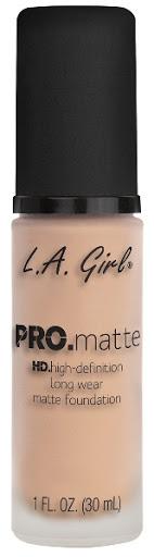 Bases La Girl Pro Matte 715 Porcelain